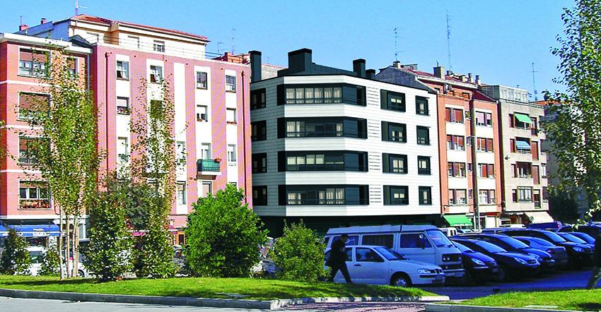 Edificio de viviendas en Getxo