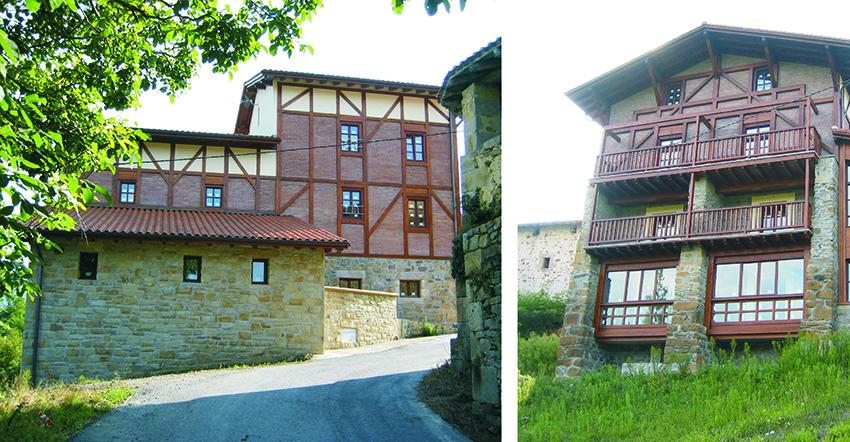 Antiguo ayuntamiento, para uso de albergue. Morga