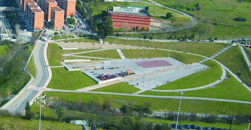 Parque en Ollargan, Arrigorriaga
