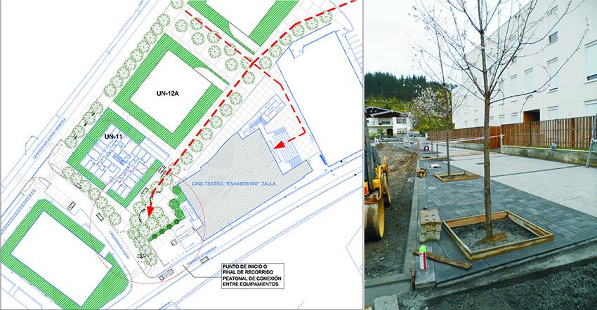 Urbanización de la UN-11 La LLana, Zalla