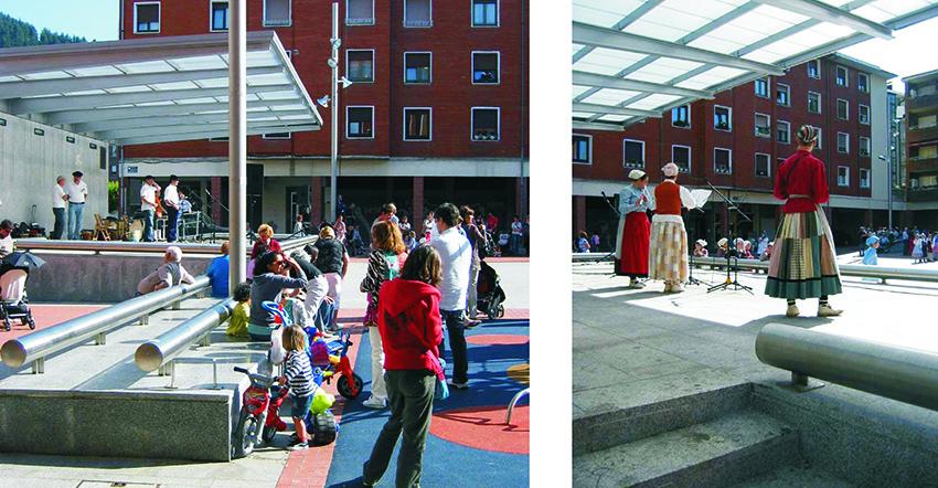Plaza Juan XXIII, Arrigorriaga